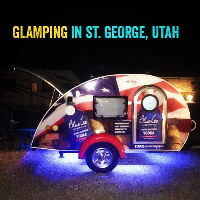 Glamping in St. George, Utah