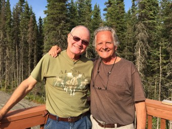 My friend, Sherm Smith, who allowed us to stay at his house in Kenai for a few days. He took the boys fishing on the Kenai.