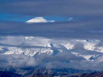 Being able to see the top of Mt. McKinley (Denali) means that we are part of the 30% group.