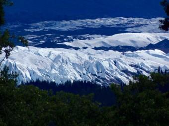 Matanuska Glacier as seen from the Glenn Hwy going to Valdez.
