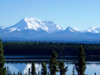 The Wrangell-St. Elias Mountain Range.