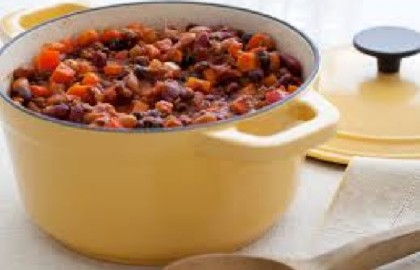 Recipes for the Campsite: Three Bean and Beef Chili